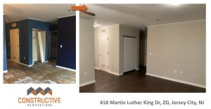 Before & After - Jersey City, NJ