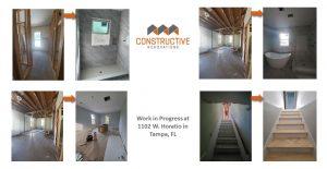 Work in Progress Update - 1102 W Horatio